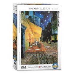 Eurographics 1,000 Piece Fine Art Puzzle - Cafe Terrace at Night, Vincent Van Gogh