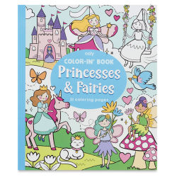 Ooly Color-In' Coloring Book - Princesses and Fairies