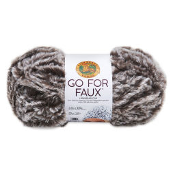 Lion Brand Go For Faux Yarn - Bear