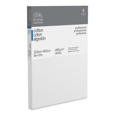 Winsor & Newton Professional Cotton Canvas - 9'' x 12'', Traditional Profile