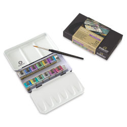 Rembrandt Artists' Watercolor Sets - Special Effects Set of 12 Pans