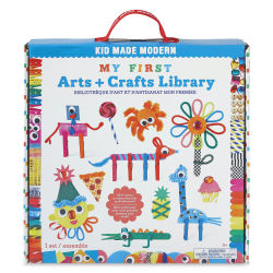Kid Made Modern My First Arts & Craft Library Kit