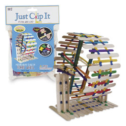 Pepperell Just Clip It Build Sticks Ferris Wheel Kit
