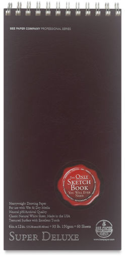 Super Deluxe Sketchbook, 60 Sheets