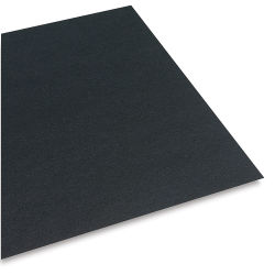 Pacon Railroad Board - 22'' x 28'' x 6 Ply, Black