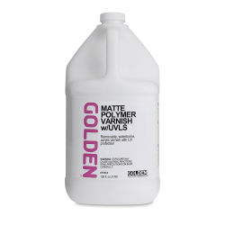 Golden Acrylic Polymer Varnish - Matte, 128 oz tub