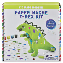 Kid Made Modern Paper Mache Kits - T-Rex Kit
