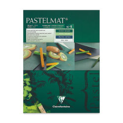 Clairefontaine Pastelmat Card Pad - 7'' x 9'', Assorted Tints 5, 12 Sheets