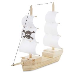 Darice Wood Model Kit - Pirate Ship
