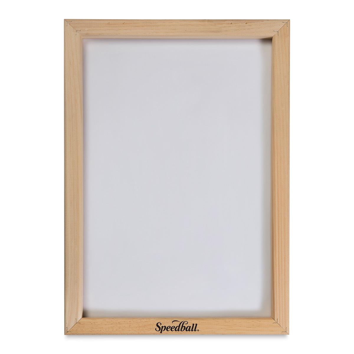 Speedball Screenprinting Frame - 110 Monofilament - 12 x 18
