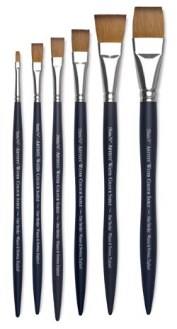 Winsor & Newton Artists' Kolinsky Sable Watercolor Brushes - One-Stroke