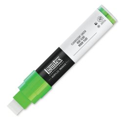 Liquitex Paint Marker - Fluorescent Green 15mm Tip