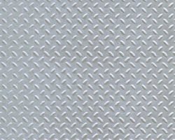 Plastruct Patterned Sheets, Diamond Plate, 1:48 Scale