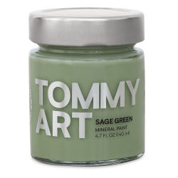 Tommy Art Mineral Paint - Sage Green, 140 ml
