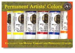 Artists' Watercolors, Set of 6