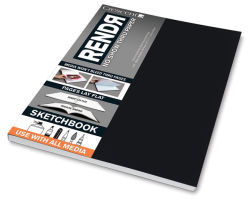 Lay Flat Sketchbook, 64 Pages
