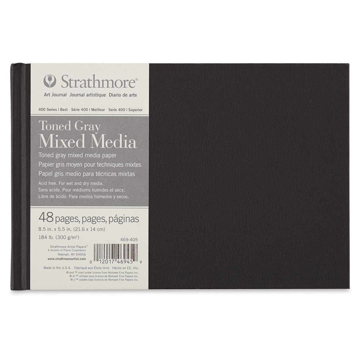 Zombies Handmade Hardcover Sketchbook Journal Toned Gray Paper