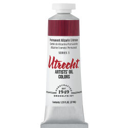 Utrecht Artists' Oil Paint - Permanent Alizarin Crimson, 37 ml tube