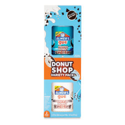 Elmer's Gue Premade Slime - Donut Shop, Package of 2