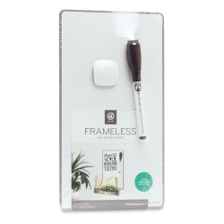 U Brands Frameless Dry Erase Board