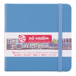 "Talens Art Creations Sketchbook - Lake Blue, 4.7"" x 4.7"""