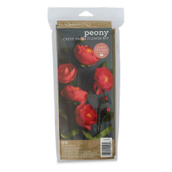 Lia Griffith Crepe Paper Flower Kits - Peony, 29 Pieces