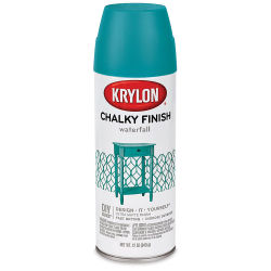 Krylon Chalky Finish Spray Paint - Waterfall