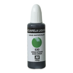 Vallejo Liquid Watercolor - Moss Green, 32 ml