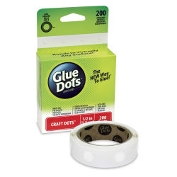 Glue Dots - 1/2'', Craft, Box of 200