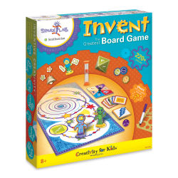 Faber-Castell Creativity for Kids Spark!Lab Invent the Greatest Board Game Kit