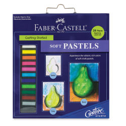 Faber-Castell Creative Studio Getting Started Soft Pastel Set