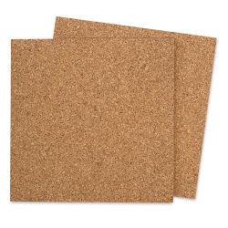 Midwest Products Cork Board - 12'' x 12'' Sheets, Pkg of 2