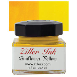 Ziller Ink - Sunflower Yellow, 1 oz