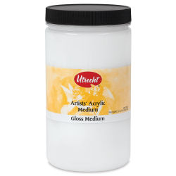 Utrecht Acrylic Medium - Gloss Medium, Quart
