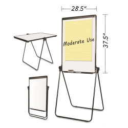 MasterVision Folds-to-a-Table Presentation Easel
