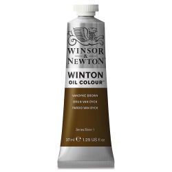 Winsor & Newton Winton Oil Color - Vandyke Brown, 37 ml tube