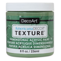 DecoArt American Decor Texture Paint - Meadow Green, 8 oz