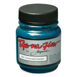 Jacquard Dye-Na-Flow Fabric Color - Emerald Green, 2.25 oz jar