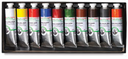 Old Holland Classic Oil Color - Introductory Box Set, Set of 10 Colors, 40 ml tubes