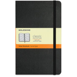 Moleskine Classic Notebook - Lined, 8-1/4'' x 5'', 240 Pages
