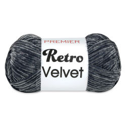 Premier Retro Velvet Yarn - Steel