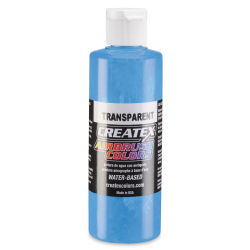 Createx Airbrush Color - 4 oz, Transparent Caribbean Blue