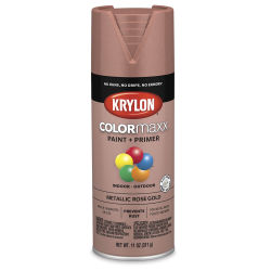 Krylon Colormaxx Spray Paint - Rose Gold, Metallic, 11 oz