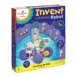 Faber-Castell Creativity for Kids Spark!Lab Invent a Motorized Robot Kit - requires two AA batteries