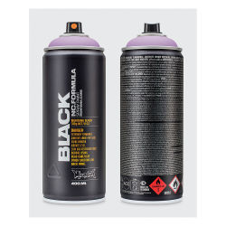 Montana Black Spray Paint - Ms. Jackson, 400 ml can