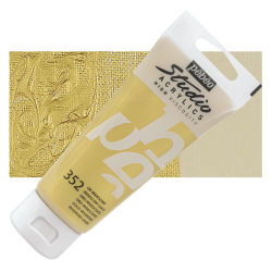 Pebeo High Viscosity Acrylics - Iridescent Gold, 100 ml tube