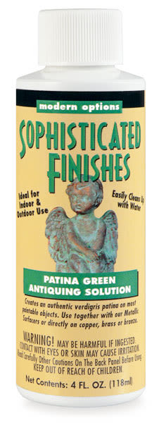 Patina Finish - 4 oz, Patina Green