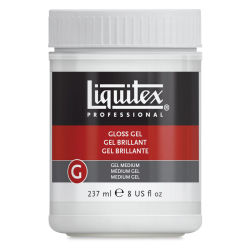 Liquitex Gel Medium - Gloss, 8 oz jar