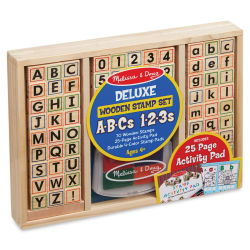 Melissa & Doug Stamp Set - ABC Activity Stamp Set