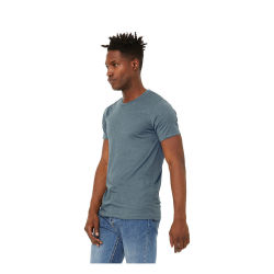Bella Canvas Unisex T-shirt - Slate Heather, Large